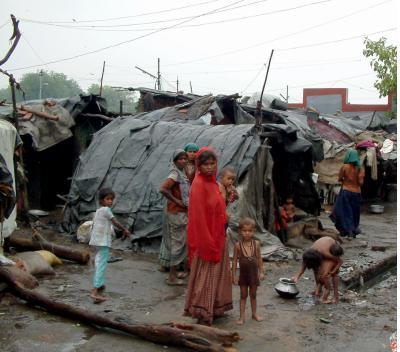 Mayapuri slum, Delhi, India